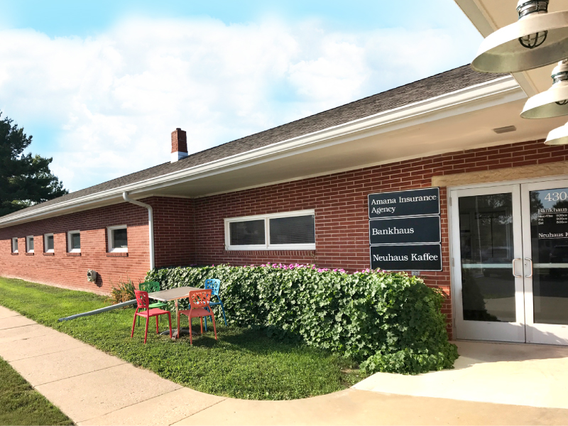 street-view-of-Amana-Insurance-Agency-in-amana-iowa